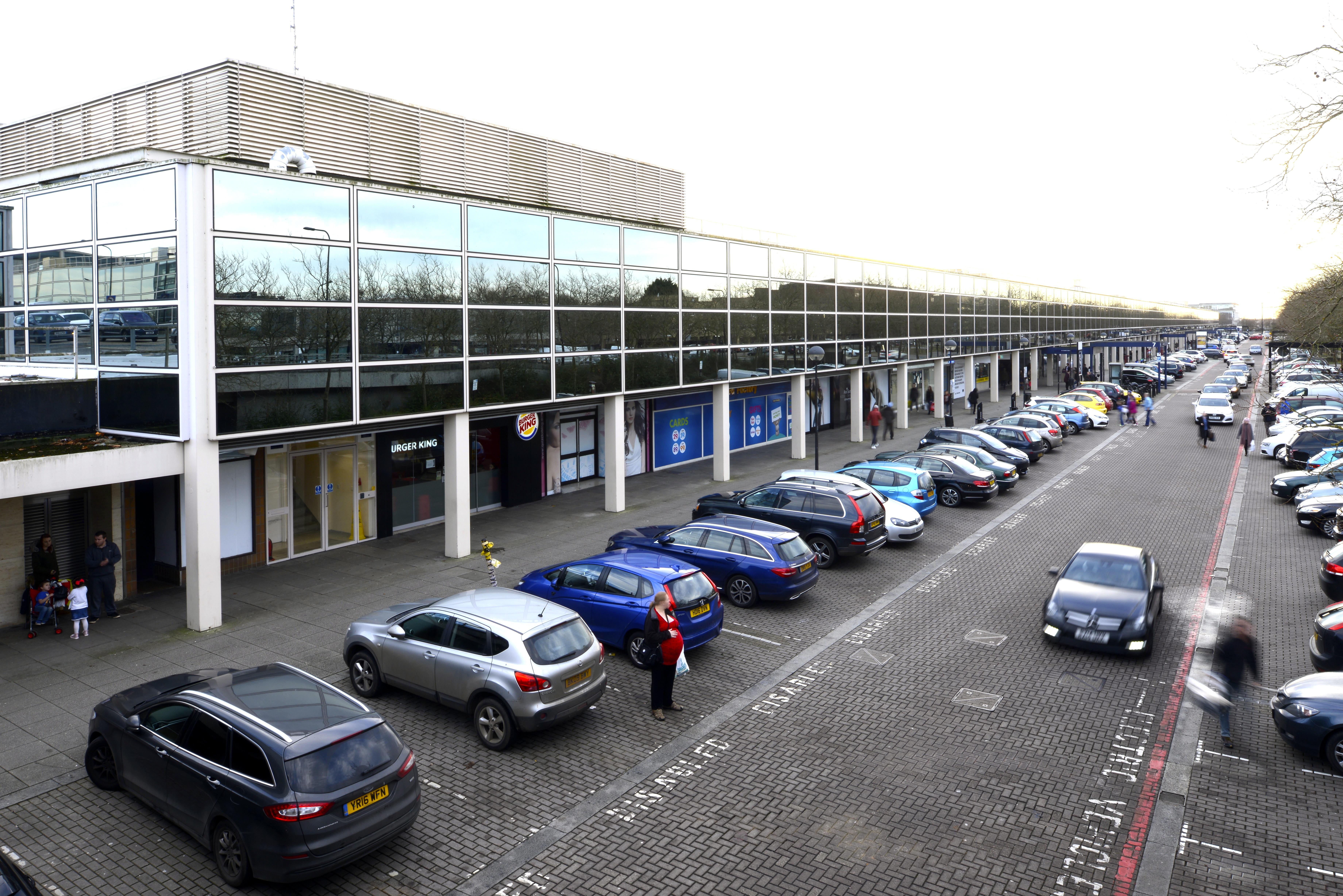 Milton Keynes Shopping Building -Derek Walker, Stuart Mosscrop and Christopher Woodward, 1973-9. Image: Elain Harwood
