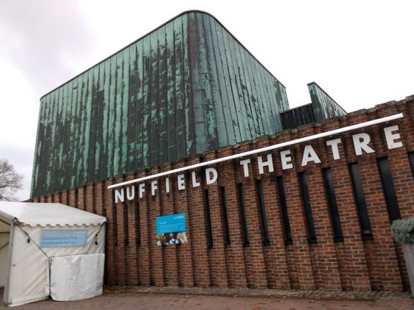 Nuffield theatre, Southampton University, Sir Basil Spence