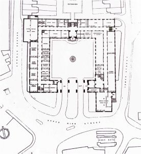 Queen Elizabeth House, Winchester, plan