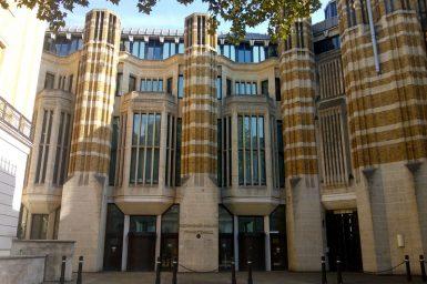 Save Richmond House front entrance