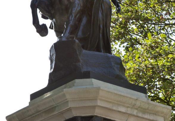 Royal Artillery Boer War Memorial, London Photo © Sarah J Duncan