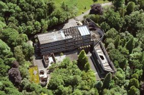 St Peter's Cardross aerial view