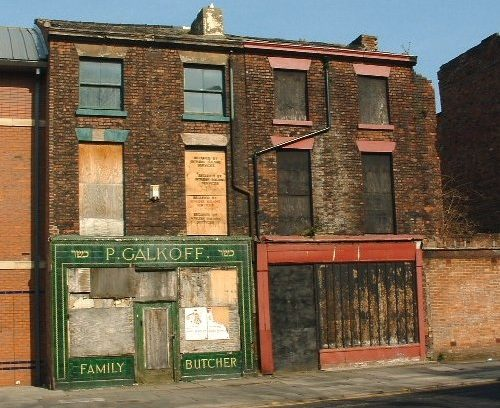 Galkoff's butchers, Pembroke Place, Liverpool