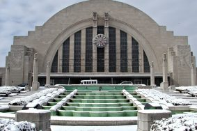 We are C20 photo Edmund Bird Cincinnati Railway Station