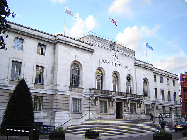 Hackney Town Hall - Image : Wiki Media