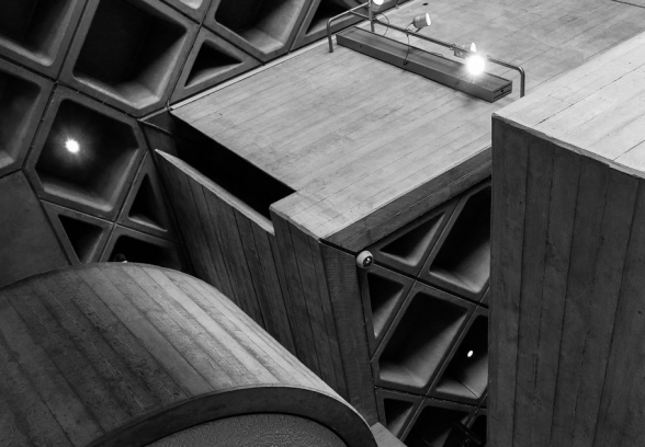 National Theatre interior photo by Chris Houldsworth winner of the C20 Harry Page photo competition 2020