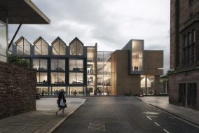 CGI visual of architects' plans for Coventry Civic Centre